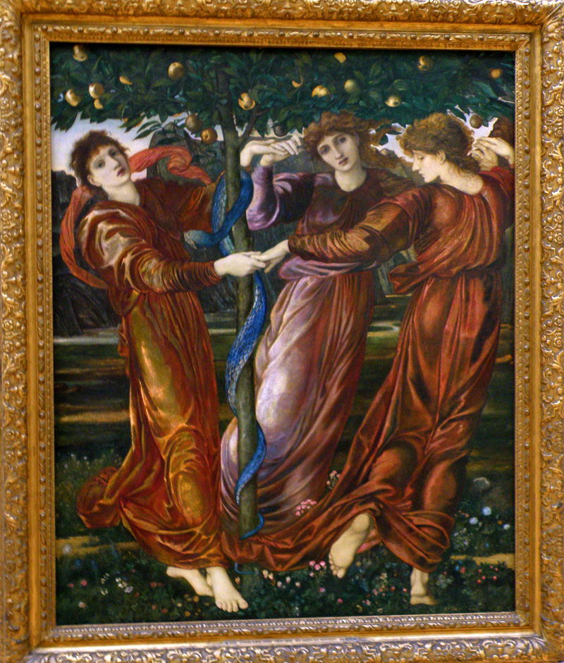 "Edward Burne-Jones ""Der Garten der Hesperiden"" (Garden of the Hesperides) 1873"