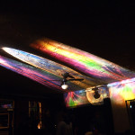 """Projektionen von Gela: """"show me the bass"""" (digital art)"""