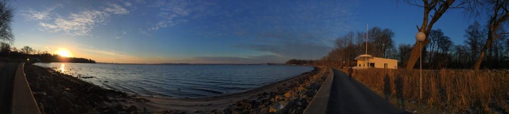 Hopper like at the Baltic Sea