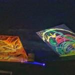 """Motive: William Blake """"Satan exculting over Eve"""" (left), Gela Schmidt """"Acid Dream"""" (right)"""