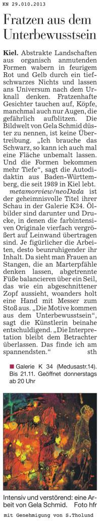 """""""Fratzen aus dem Unterbewusstsein"""""""