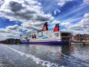 Stena at Sweden Quay in Kiel