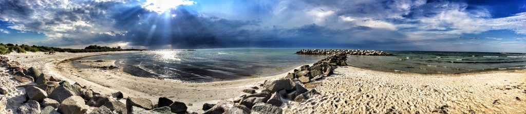 Storm over the western seashore