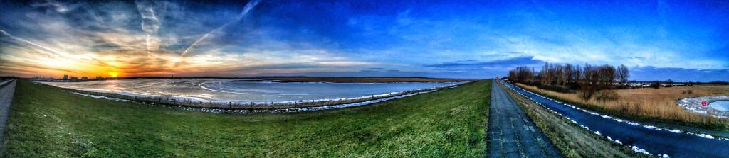 Winter lagoon
